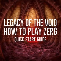 How to play Zerg