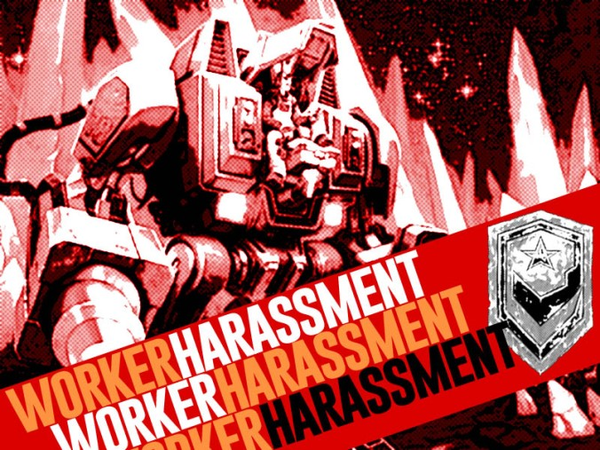 worker harassment